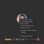 Teams Live Event - View presenter background blur | VanRoey.be