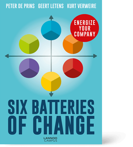 Livre Six Batteries Of Change