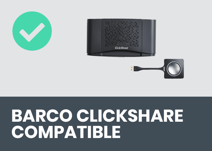 CTOUCH BRIX Barco Clickshare | VanRoey.be