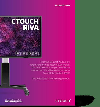 CTOUCH Riva Brochure | VanRoey.be