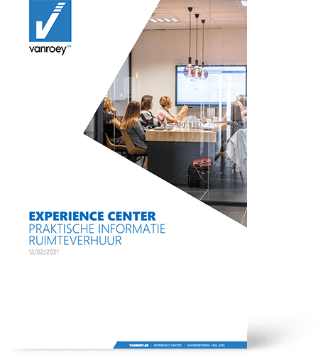 Experience Center Space rental | VanRoey.be