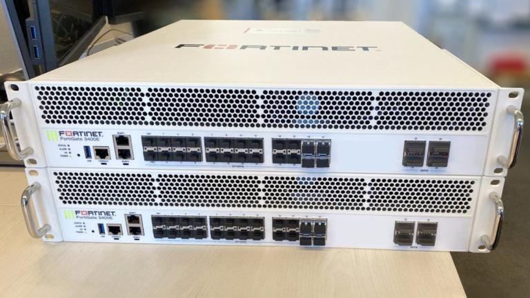 Fortinet Fortigate 3400E Firewall