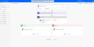GroupMGR - Screenshot Project approval flow | VanRoey.be