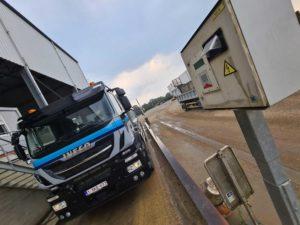 Hegrola weegbrug vrachtwagen