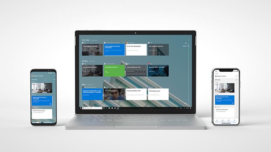 Microsoft 365 EMS overzichtsbeeld
