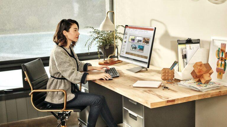 Home Office Telewerk - Microsoft Office 365 PowerPoint | VanRoey.be