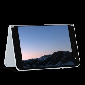 Microsoft Surface Duo Tent Mode | VanRoey.be