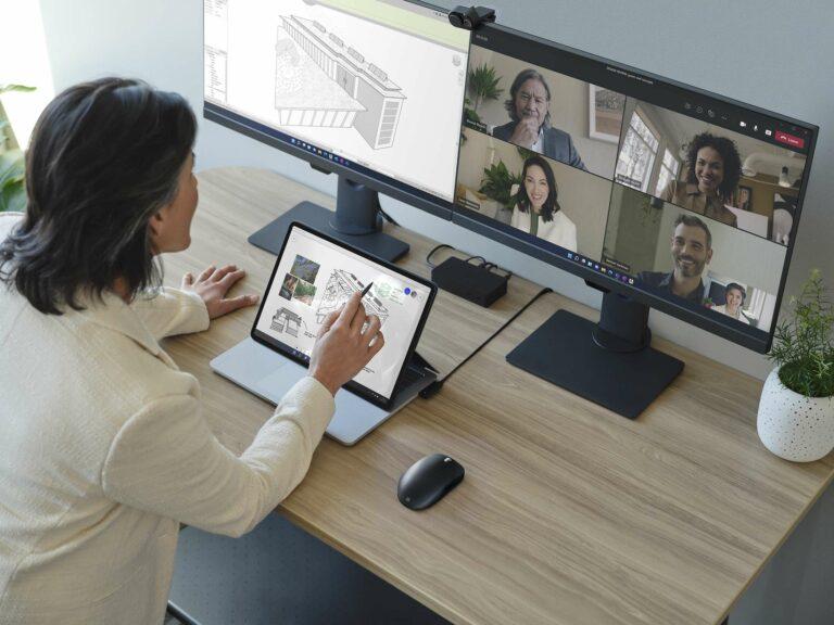 Appel aux équipes de Microsoft Surface