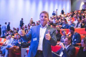 Pat Van Roey op het Vision Event van2019