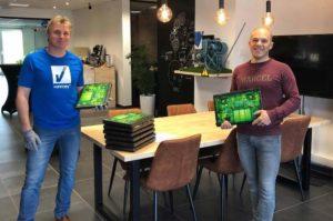 Donation of laptops to Kogeka - Digital for youth | VanRoey.be