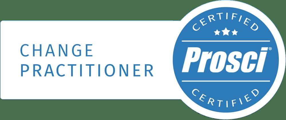 Prosci ADKAR Certified Practitioner