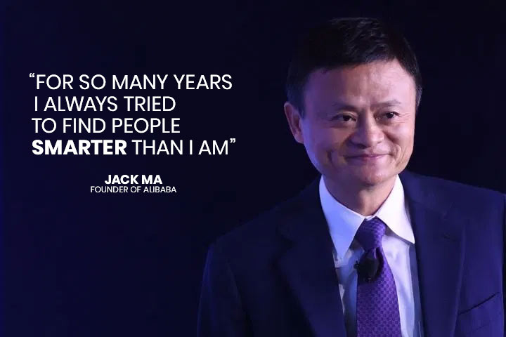 Quote of Jack Ma (Alibaba)