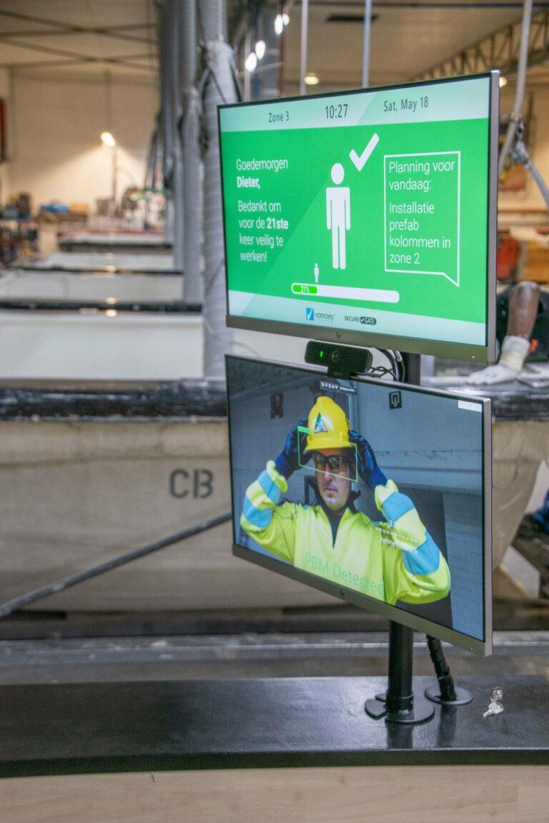 SecureGate PPE Detection | VanRoey.be