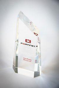 VanRoey EMEA Fortinet Award
