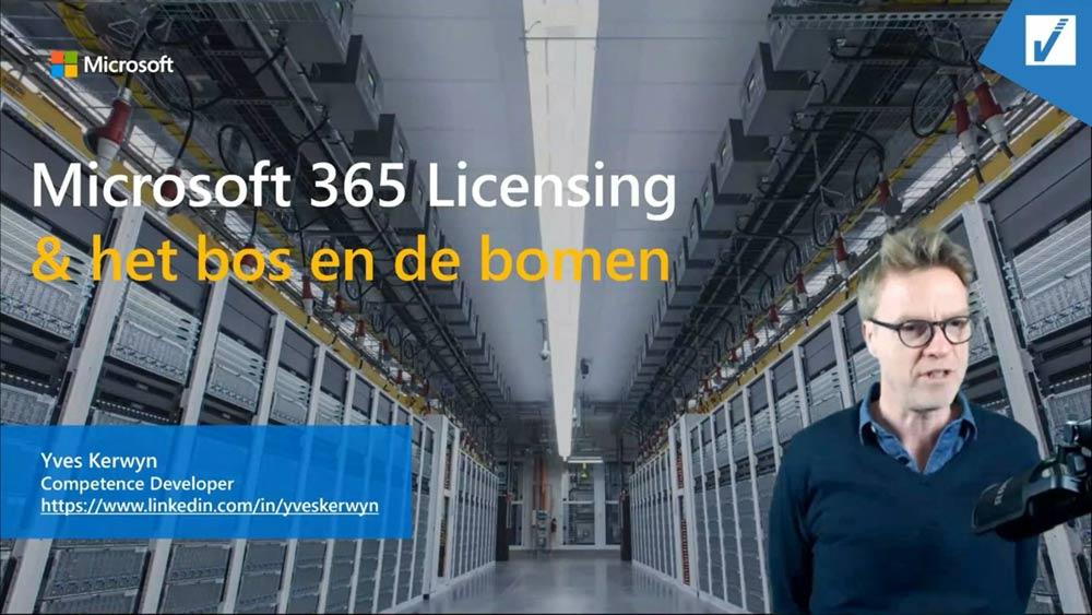 Webinar Microsoft Licenties | VanRoey.be
