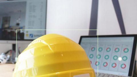 Helmet detection iot AI lifeatvanroey
