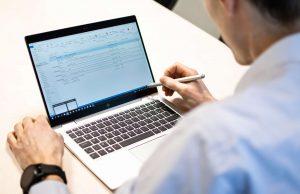 ordinateur portable mails stylo écran tactile lifeatvanroey